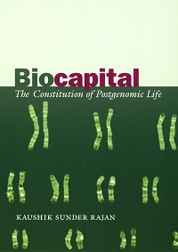 "Book cover of ""Biocapital"""